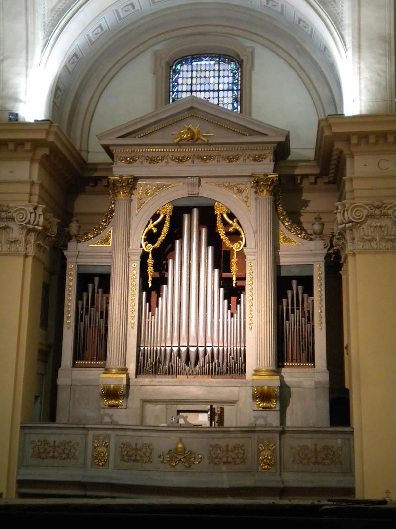 L organo parrocchia di valeggio sul mincio for L organo portativo