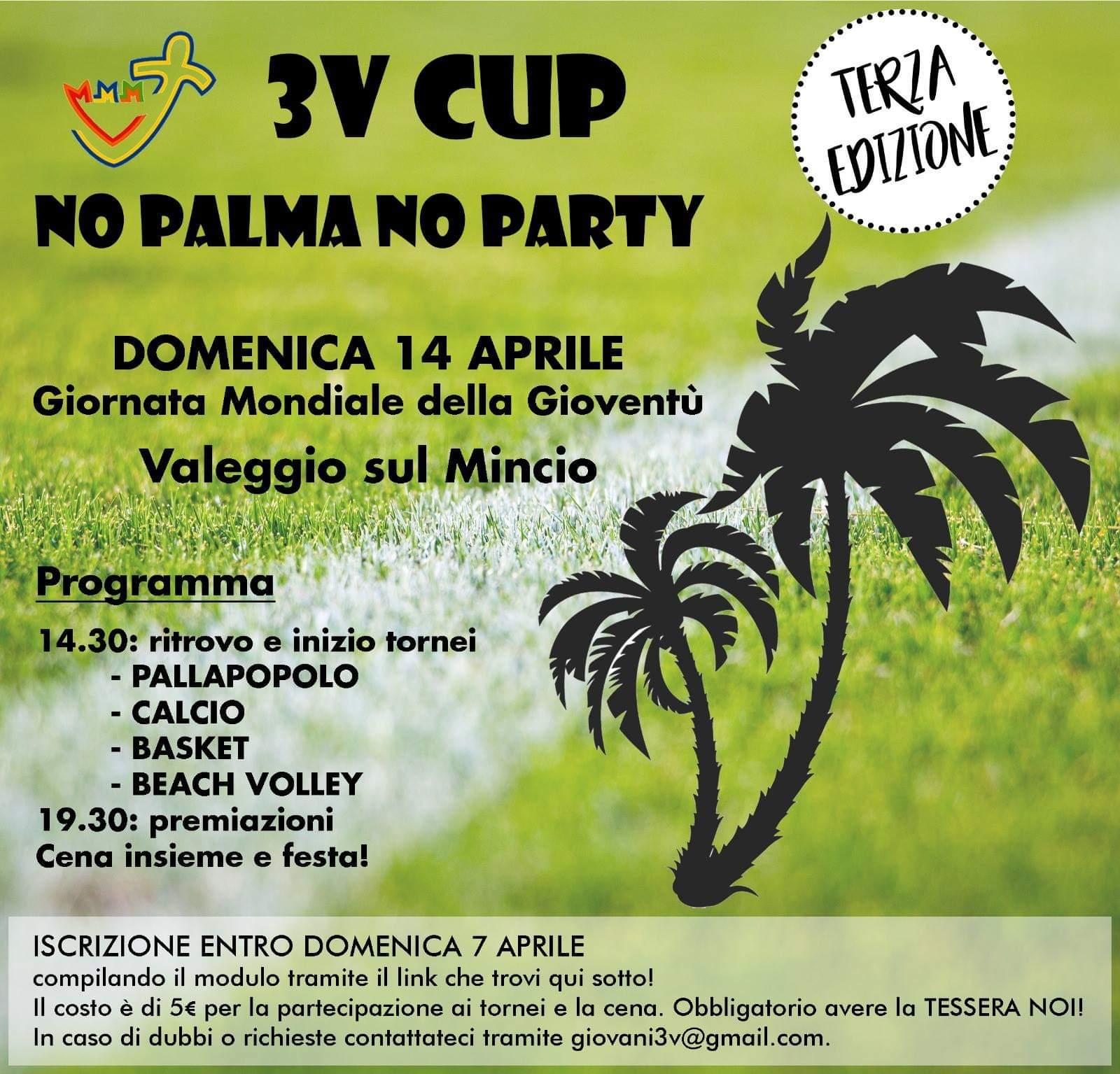 3V CUP – Terza Edizione